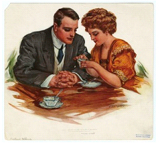 tea leaf reading couple