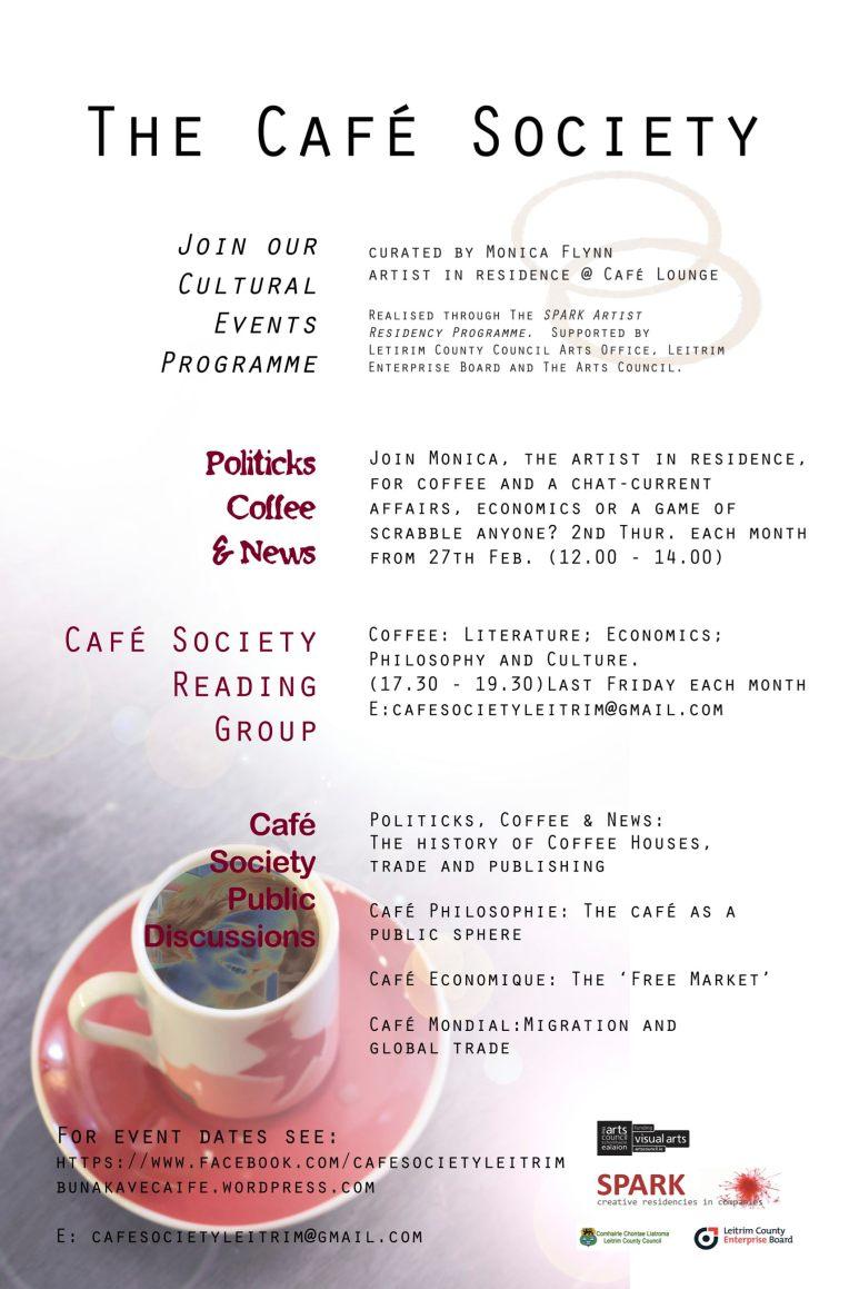Spark Cafe Society Poster